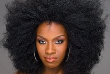 Afro weave style
