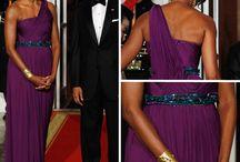 Michelle Obama wears Binns!