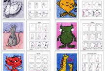 preschool art animals