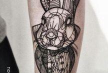 tatuajes conejos