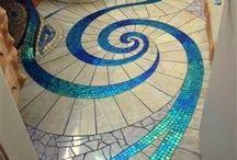 Yard - mosaics