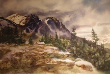 Landscape Art / Landscapes in varied mediums, sizes, locations, artists featured at Spirits in the Wind Gallery