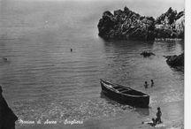 Cartoline antiche del Cilento / Old postcard of Cilento