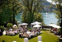 Hochzeit im Schloss Maria Loretto mit Feine Küche Kulterer und www.help-org.at