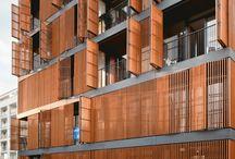 architectural facade - surface