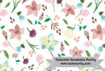 Veda Murthy Surface Pattern Design