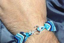 Makrame bracelet anchor