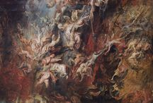 "Performing the Painting #4 Research / ""The Fall of the Damned"" by Peter Paul Rubens"