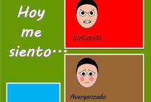 Emocje-ilustracje, symbole:)