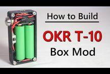 Vape Box Mods DIY / Ideen und Materialsammlung für den Eigenbau eines Akkuträgers.