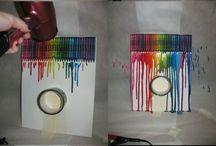 Värikynistä ja maaleista taidetta