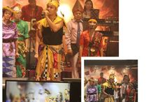 Celebration Of Praise Indonesia / A bevy of musicians, singers and dancers. The characteristic of this group is always showing the arts and culture of Indonesia through dance, music and chorus