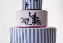 Torty weselne / Garść inspiracji na najpiękniejsze i najsmaczniejsze torty weselne, ciasteczka, babeczki na wesele.