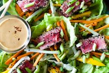 Salads and Lettuce Wraps