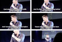Supernatural interview