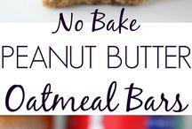 No cook munchies/brkfst  bars