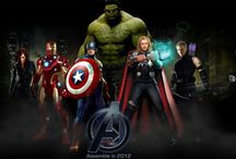 Super Heroes-Anti Heroes, Villains.