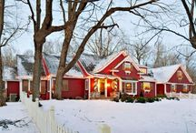 house exteriors / by Melody Fremont