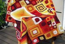 crochet / takaró,szőnyeg,párna....