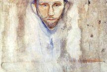 Escritores, Pintura, Retratos