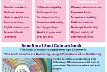 Soul Colours / A book to sell to destress.