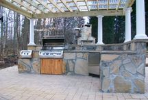 Outdoor Kitchens / These outdoor kitchens are unique additions to any home and excellent for entertaining.