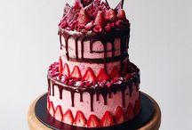 Gyümölcs torták Fruit cake