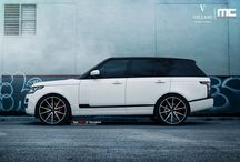 "Range Rover l Vellano VM27 Monoblock / Stunning Range Rover on our  Vellano VM27 24"" Monoblock this color matched two tone Black and White Light Weight wheel was specific cut and finished for this Vehicle.  let us know what you guys think?"