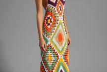 vestidos y faldas tejidos (grande)