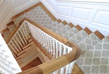 Staircase Designs by Natasha K Design / A board sharing some of the staircase designs I have completed over the last few years!