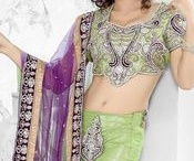 Lehenga Sarees For Reception / Buy all types of bridal lehenga,saree lehenga,designer lehenga sarees,bridal lehenga sarees,designer lehenga only at chennaistore at cheap price with door step delivery. For more collections http://www.chennaistore.com/sarees/lehenga-sarees