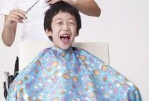 Cut boy's hair at home to save money