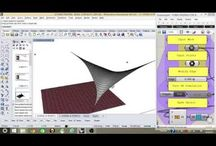 Grasshopper/Rhino Tutorials Tensile structures