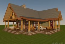 2028 Samish Island / RCM CAD DESIGN DRAFTING LTD is an architectural design firm primarily specializing in log and timber construction projects.