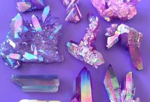 Purple Crystals / Welcome to our board for Purple Crystal Inspiration! Photo source info might have been changed/lost along the way. If a photo belongs to you, please let us know so we can offer credit! Shop Purple stone jewelry here: http://bit.ly/2r8wdvg