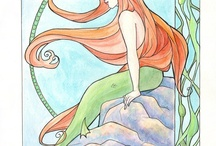 Mermaid mural inspirations / by Sonja McLaughlin