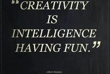 Creativity quotes / Woods about creatives and creativity