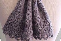 Вяжем шарф