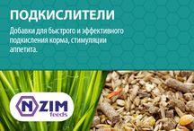 Подкислители корма ENZIM Feeds