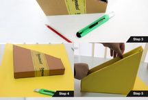 Cardboard Crafts DIY - Bewakoof / DIY is the best way to make use of your free time, and it's even better when doing it is easy and fun too! The cardboard boxes that we deliver our products in are the most versatile pieces and can become you DIY buddies. Follow our projects to make yours now!