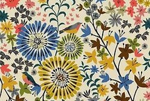 Delicious florals / anything with a floral surface pattern