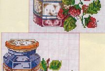 Kitchen crosstitch