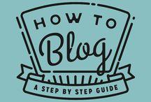 Blog Tips / Info on building a blog / by Mattie