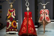 Fashiondesigners / Fashion designers inspired by tribal textiles