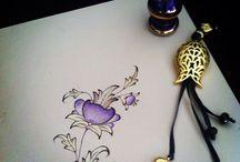 Çiçek  / Boyama