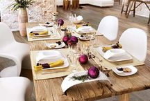 Christmas Table / Ideas for decorating the Christmas table. / by Pam Dudley