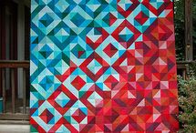 Quilts / different styles, shapes and colours