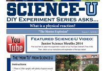"""DIY Experiment Series / The DIY Experiment Series focuses on specific experiments for kids done at Science-U and other Outreach events. Each """"activity"""" in the series links you to a visual demo on our YouTube channel and a """"How-To"""" section to do the correlated experiment yourself!"""