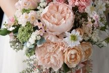 BLUSH | Style by Color / A touch of blush makes adds femininity to any wedding!