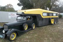 Cool Trailers and RV's / Since the invention of the automobile people have been designing and customizing trailers for their specific needs.  From mild to wild